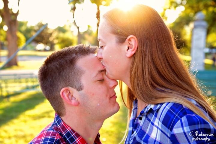 Garden City Engagement Photography