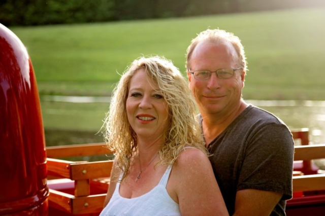 Sunset Engagement Photography