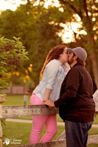 Sunset Park Engagement Photography